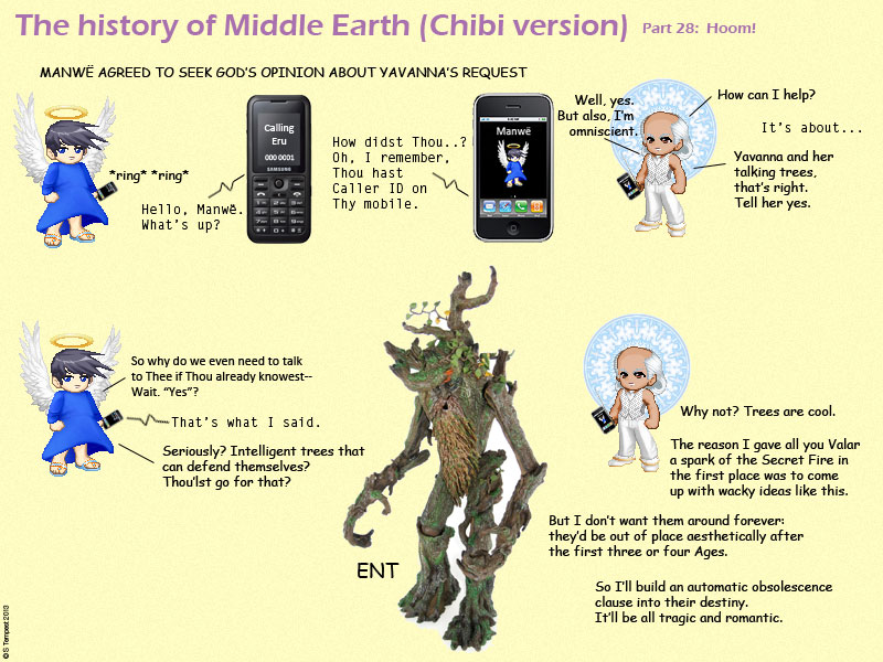 The History Of Middle Earth Chibi Version Part 28 Hoom Stormwreath