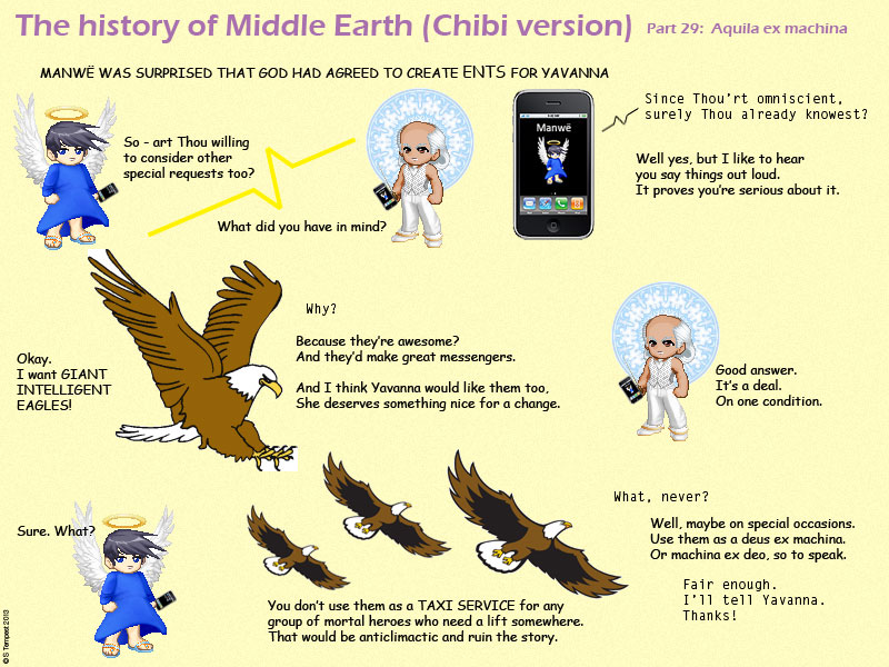 The History Of Middle Earth Chibi Version Part 29 Aquila Ex Machina